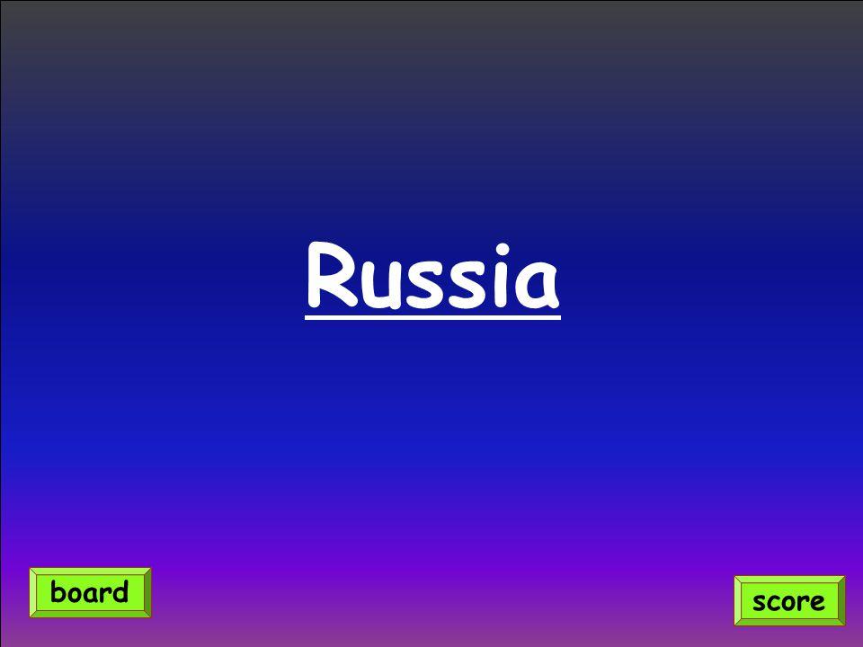Russia score board