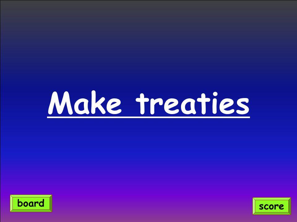 Make treaties score board