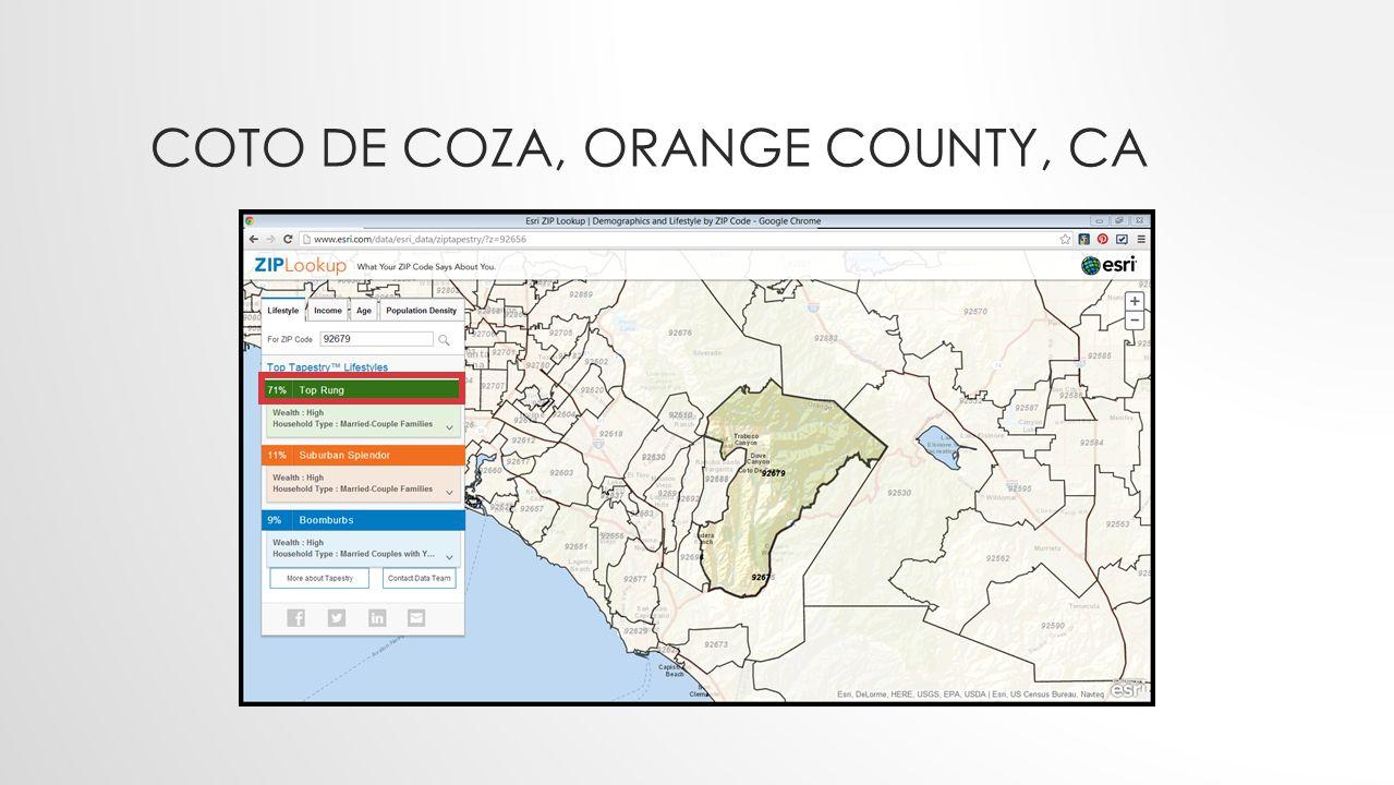 COTO DE COZA, ORANGE COUNTY, CA