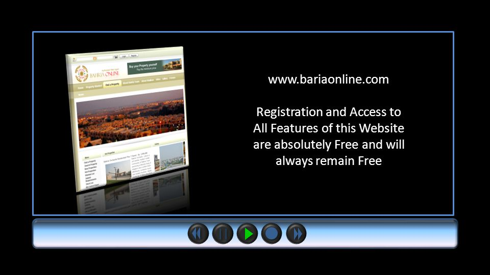www.bariaonline.com Registration and Access to All Features of this Website are absolutely Free and will always remain Free
