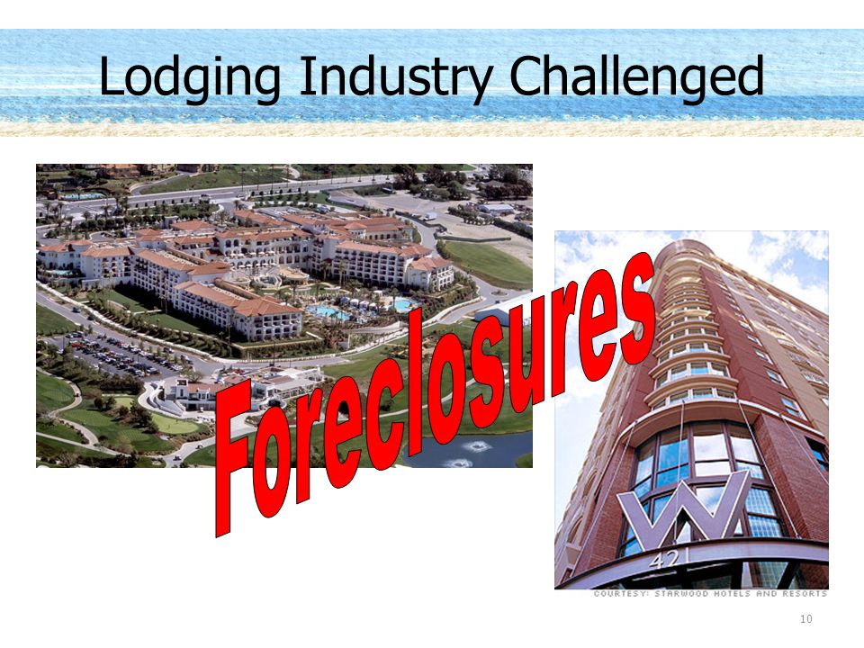 Lodging Industry Challenged 10