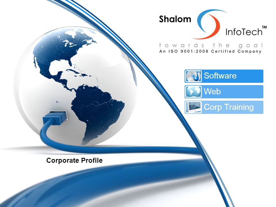 Corporate Profile Software Web Corp Training