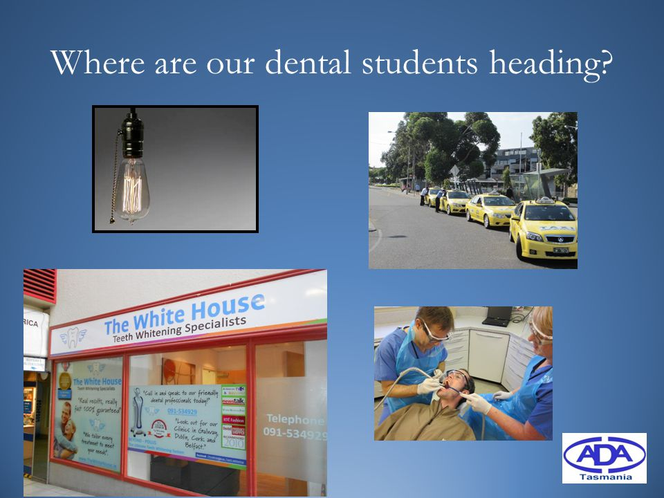 Where are our dental students heading?