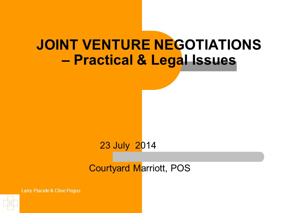 Forms of Joint Venture (Purchasing) Agreement to purchase goods (or services) together.