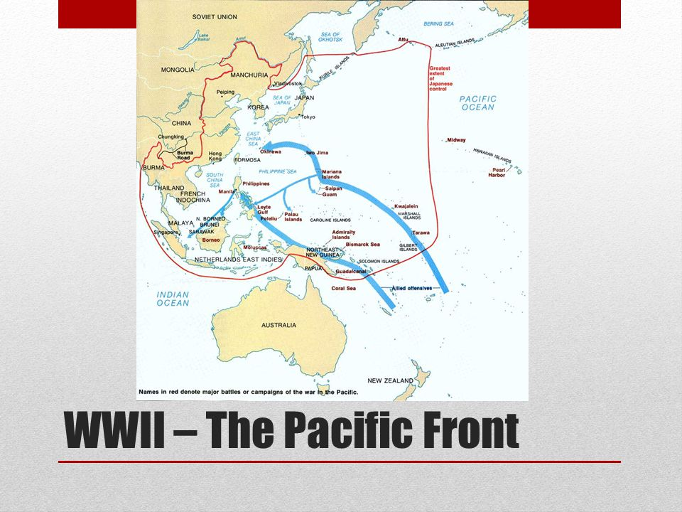 WWII – The Pacific Front