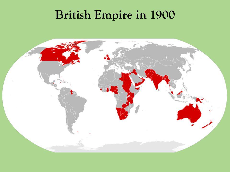 British Empire in 1900