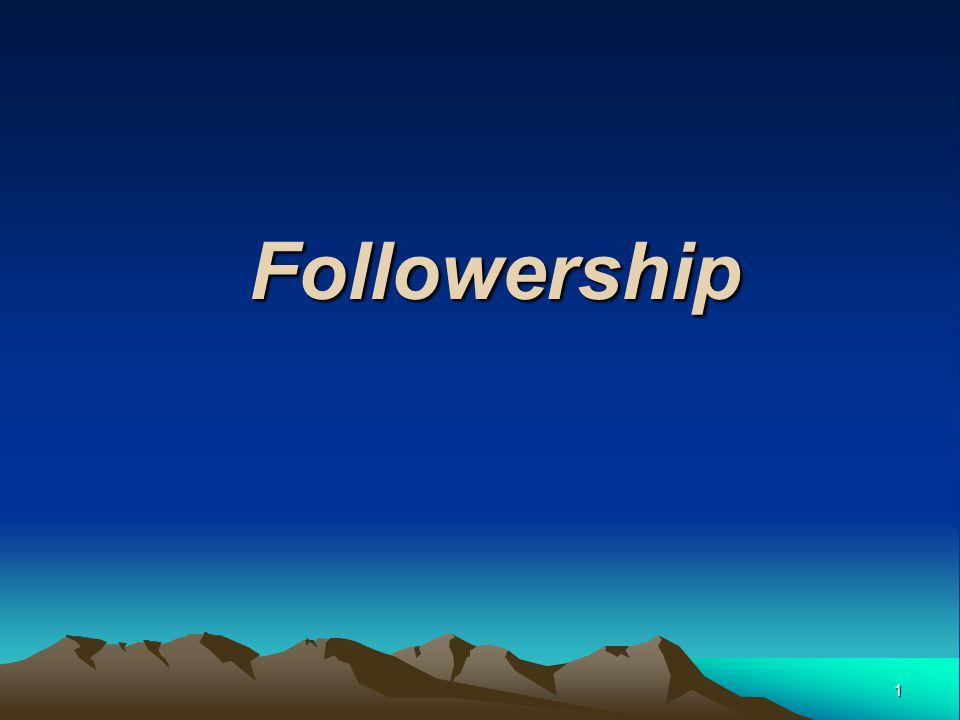 1 Followership