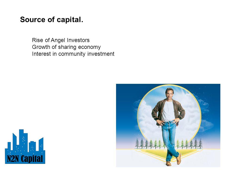 Source of capital.
