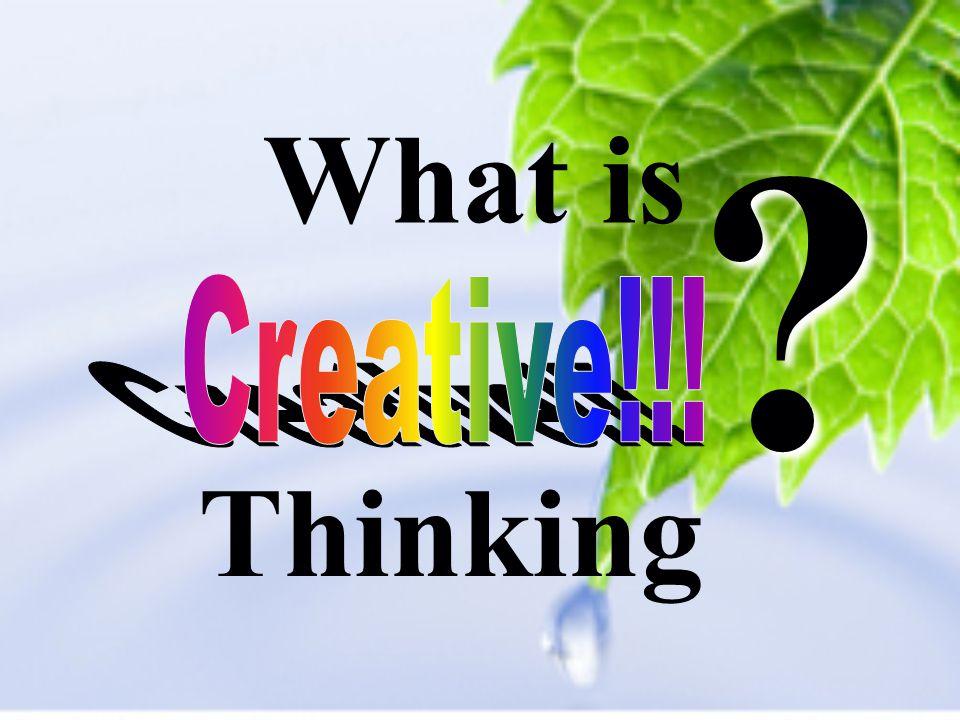 Definitions Normal Creative Innovative Strategic