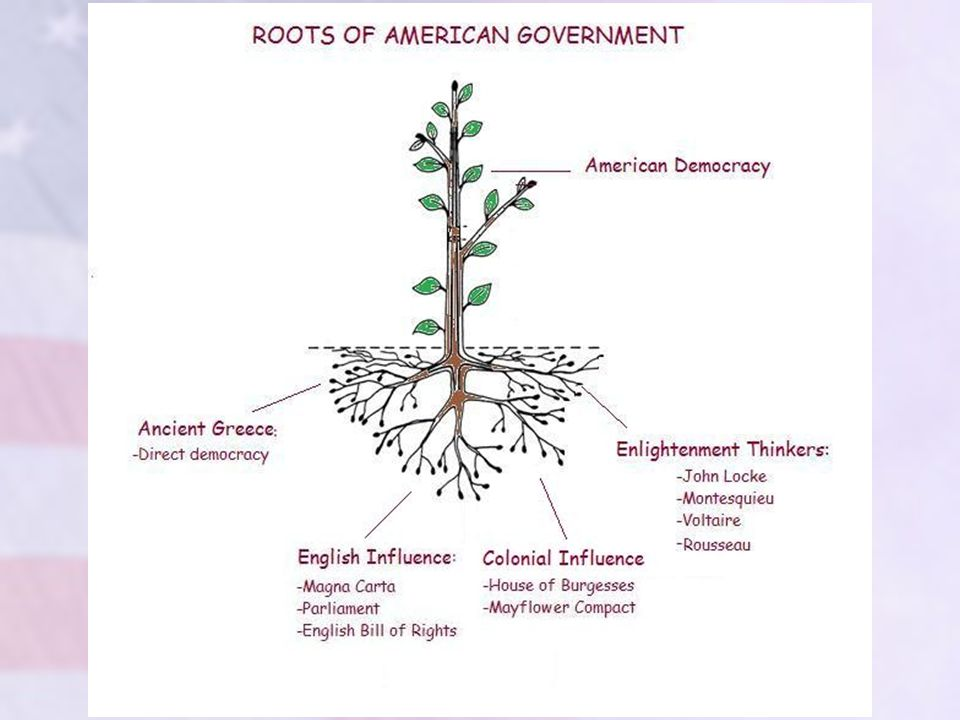 European Enlightenment Thinker: MONTESQUIEU Believed in separating the power of the government among three equally divided branches: –the legislative branch: makes laws –the executive branch: enforces laws –the judicial branch: interprets laws, makes judgments about whether or not they are violated