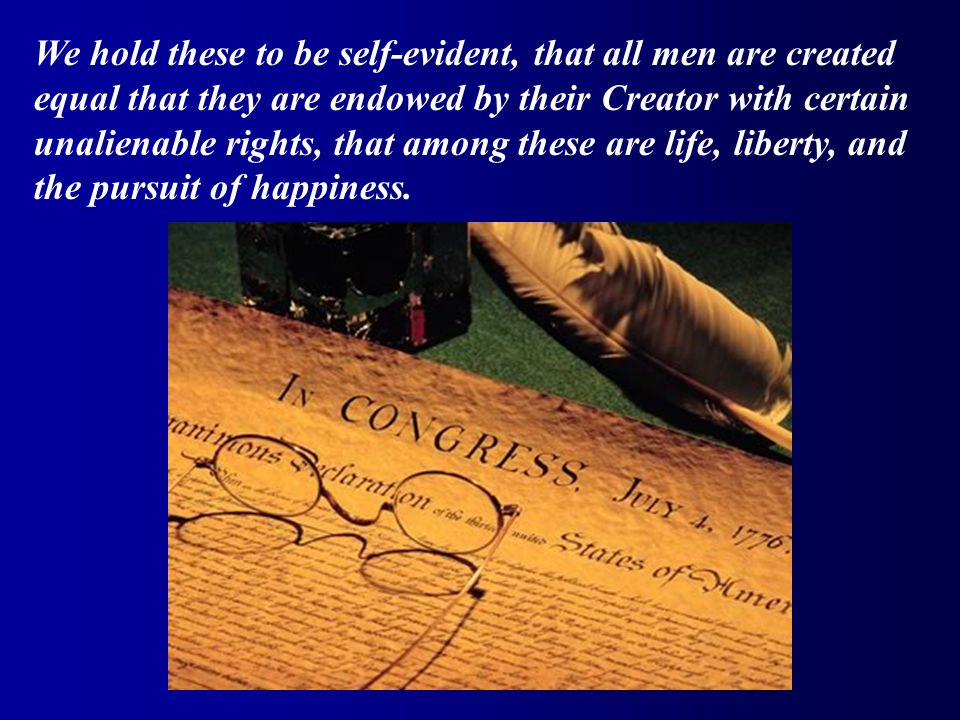 THINKER IDEAUSE Locke Natural rights Declaration of Independence – Life, Liberty, Pursuit of Happiness Abolish Tyrannical Government