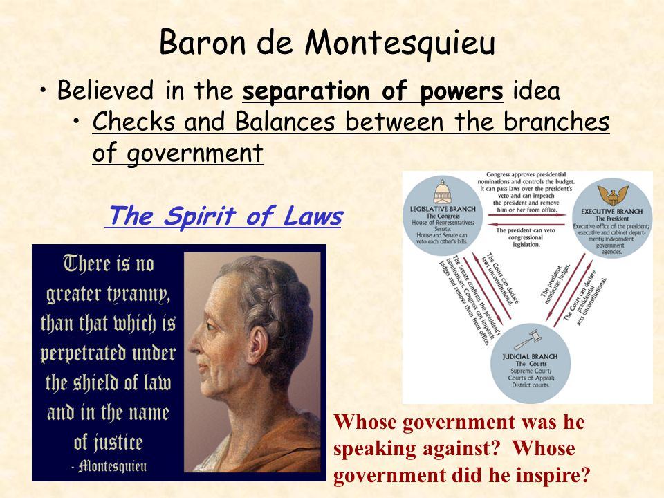 John Locke What is the purpose of government To protect people's natural rights – life, liberty and property.