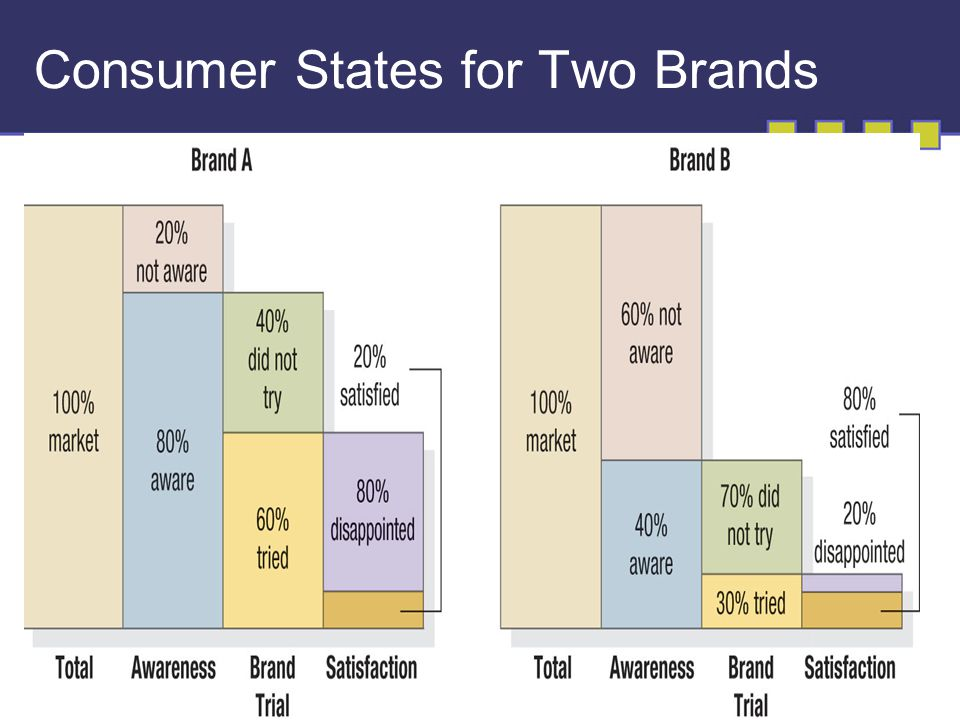 17-5 Consumer States for Two Brands