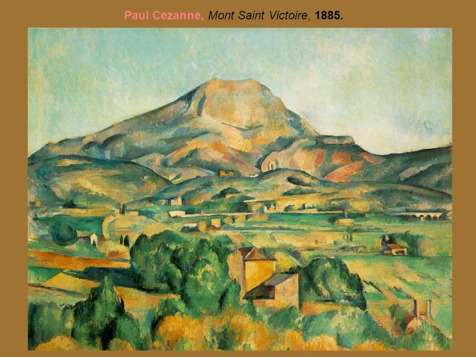 Paul Cezanne, Mont Saint Victoire, 1885.