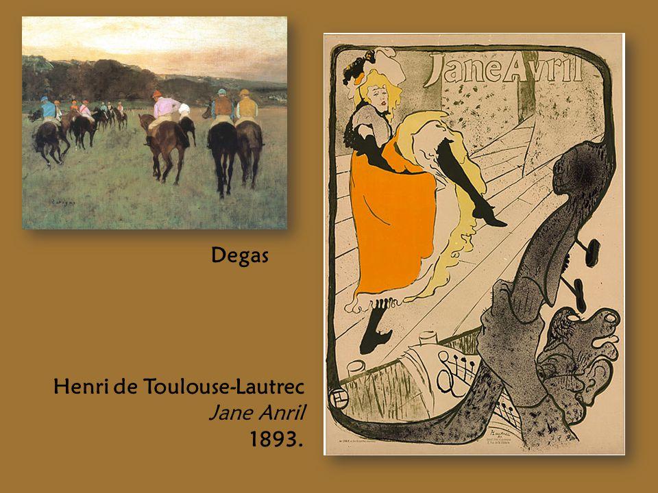 Degas Henri de Toulouse-Lautrec Jane Anril 1893.