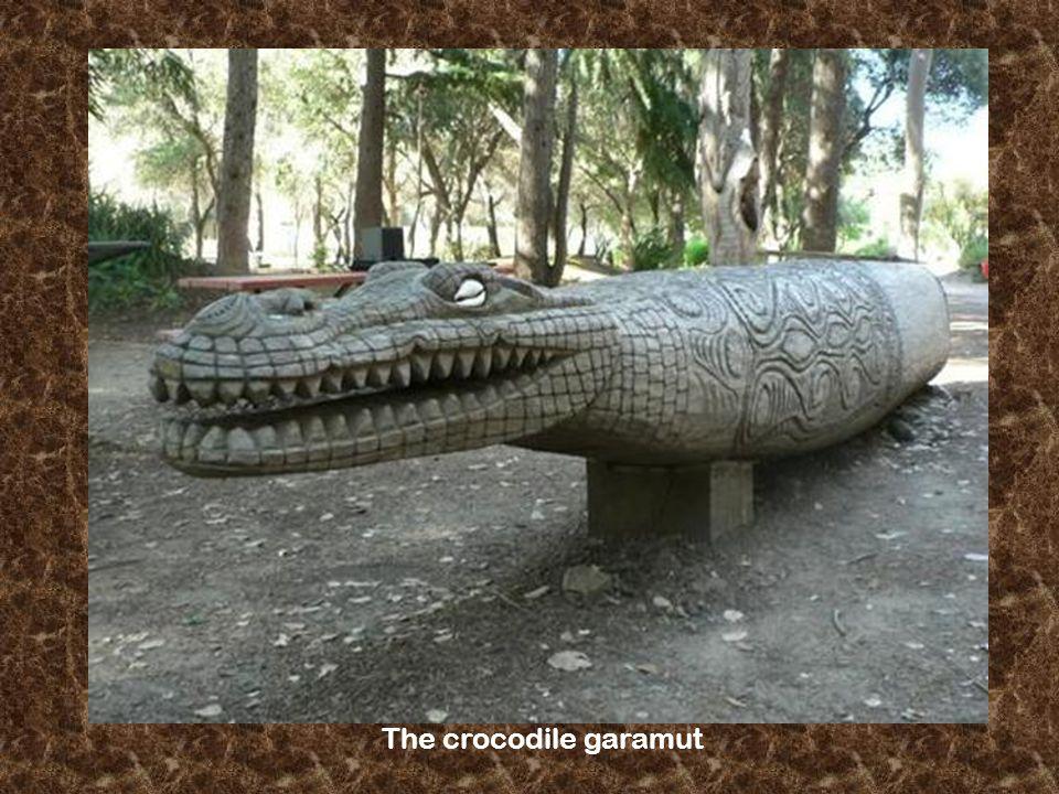 The crocodile garamut