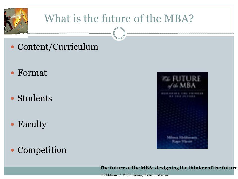 Blended MBA Programs