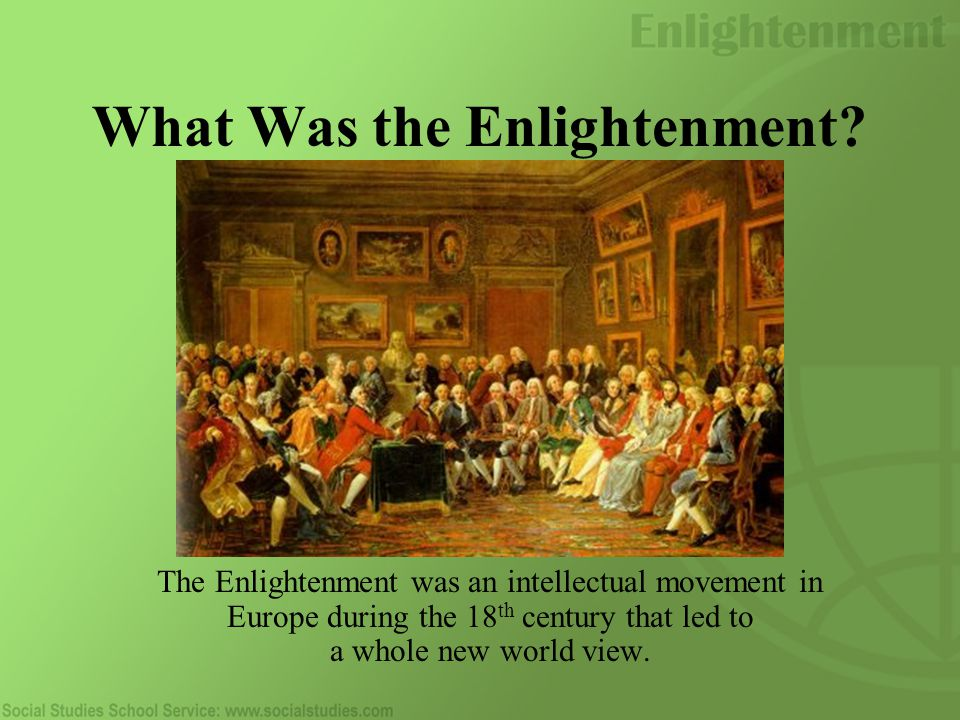 What Was the Enlightenment.