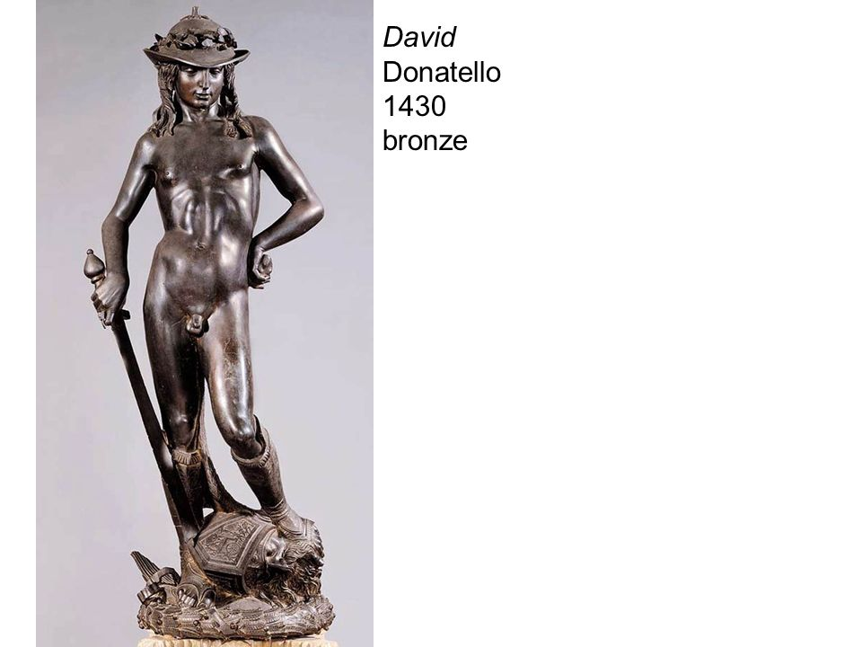 David Donatello 1430 bronze