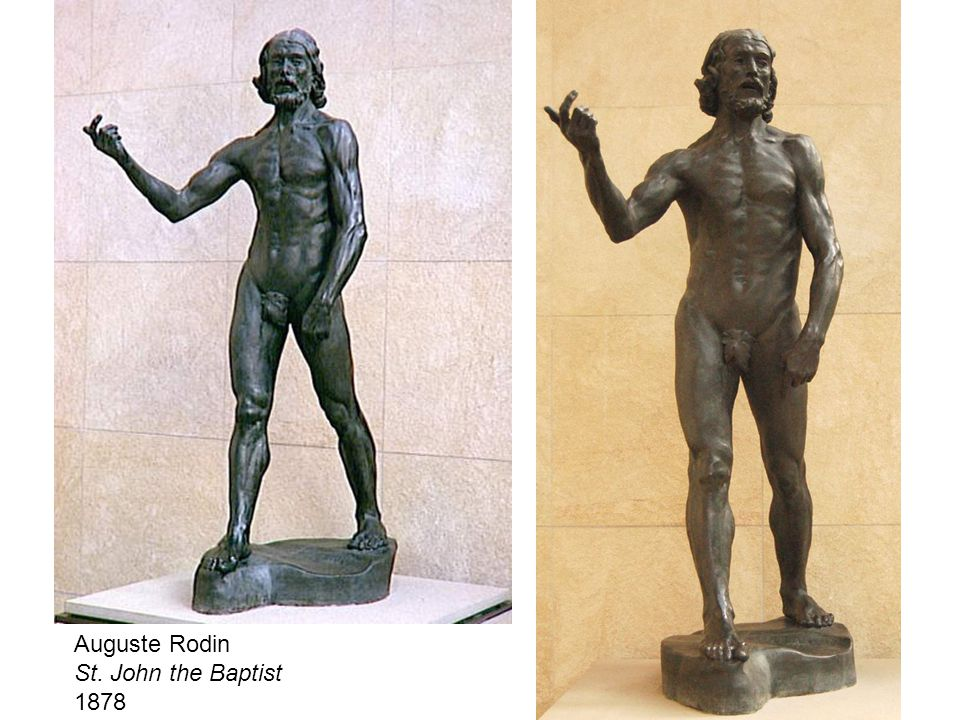 Auguste Rodin St. John the Baptist 1878