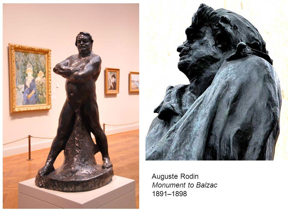 Auguste Rodin Monument to Balzac 1891–1898