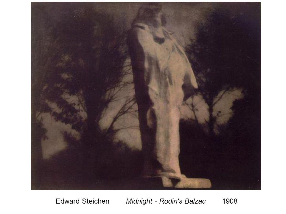 Edward Steichen Midnight - Rodin s Balzac 1908