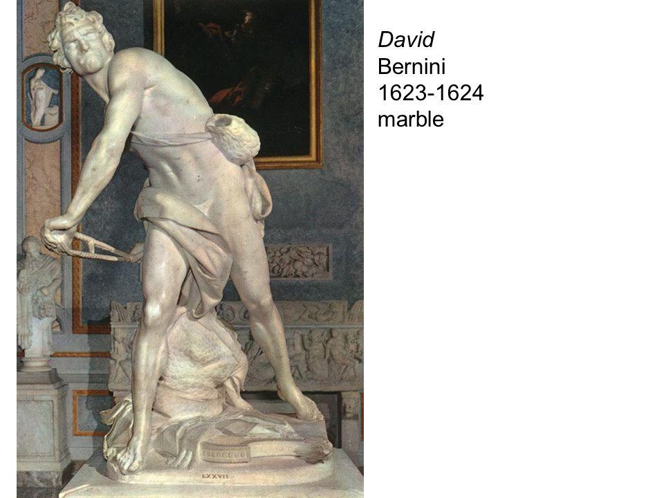 David Bernini 1623-1624 marble