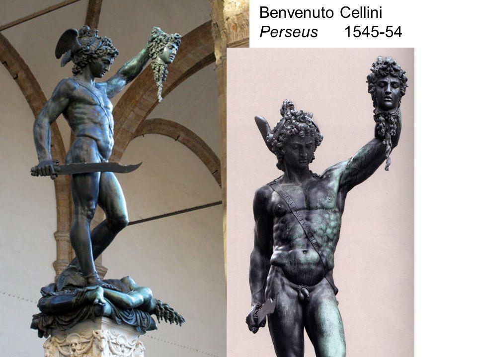 Benvenuto Cellini Perseus 1545-54