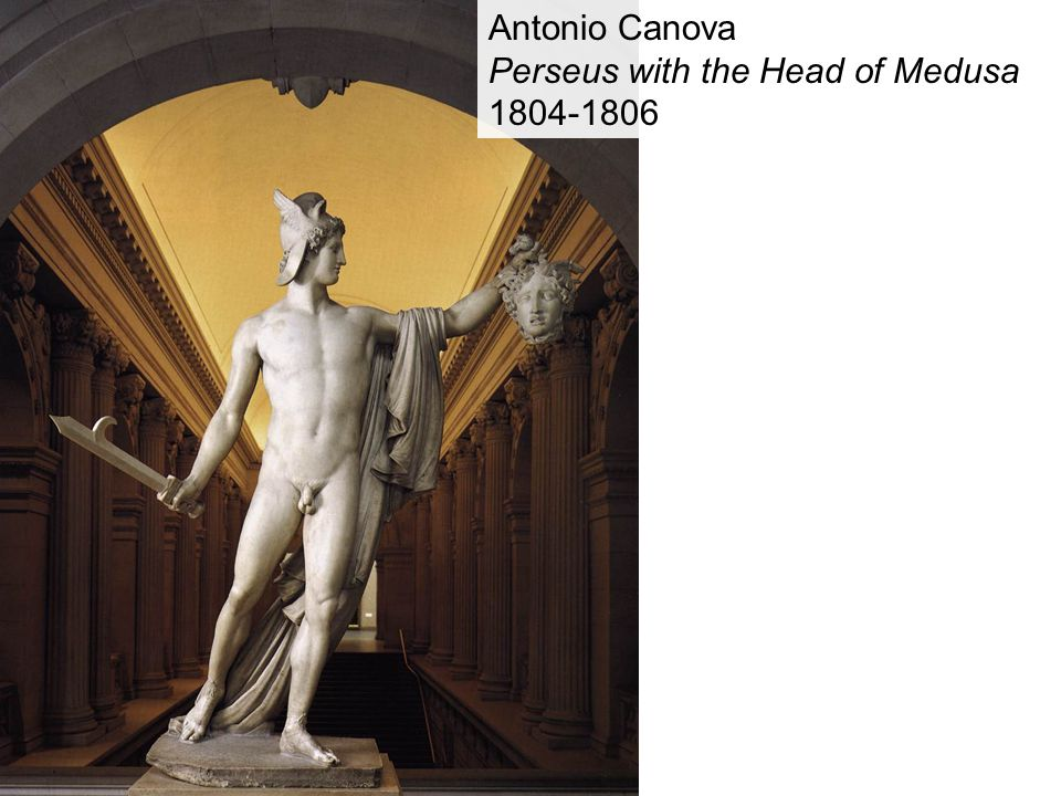 Antonio Canova Perseus with the Head of Medusa 1804-1806