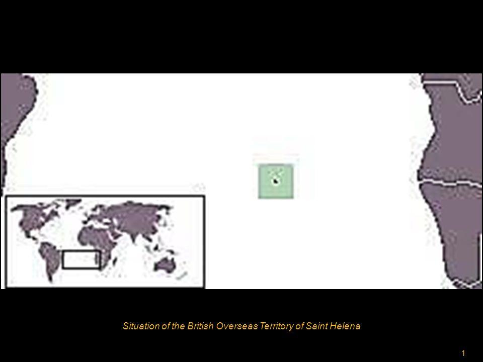 1 Situation of the British Overseas Territory of Saint Helena