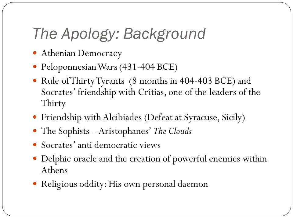 The Apology: Philosophers vs.
