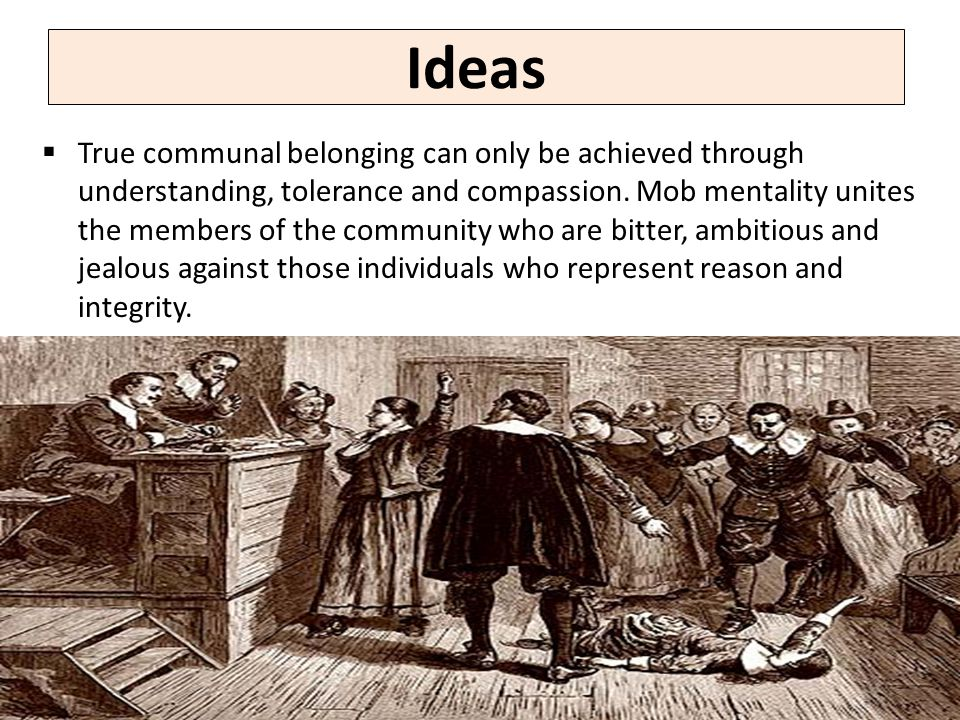 Ideas  True communal belonging can only be achieved through understanding, tolerance and compassion.