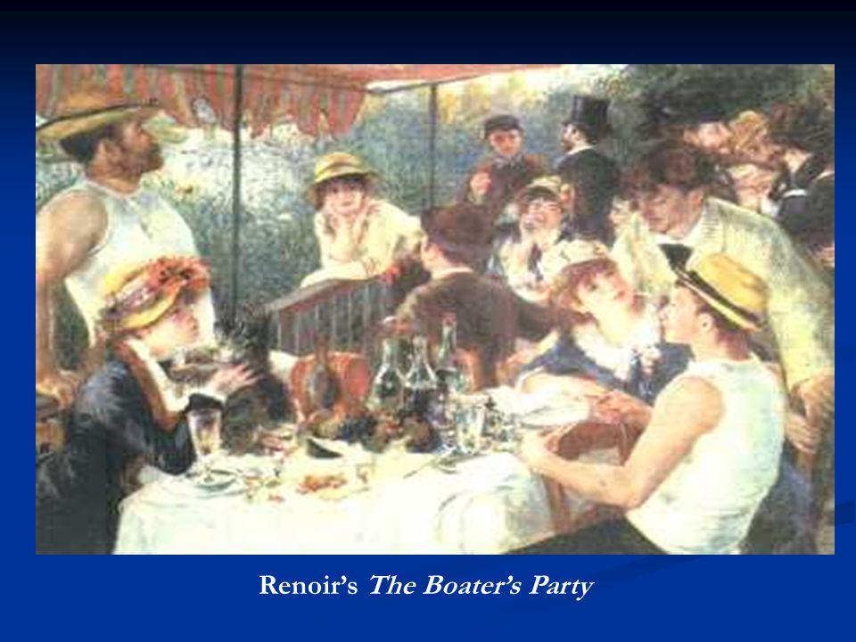 OTHER IMPRESSIONISTS Pierre Auguste Renoir (1841-1919) Edgar Degas (1834-1917) Mary Cassatt (1844- 1926)— American