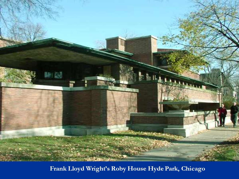 Frank Lloyd Wright – Oak Park, Illinois