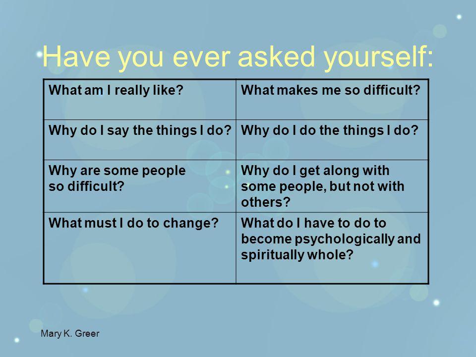 Mary K. Greer Enneagrams Finding Your True Self