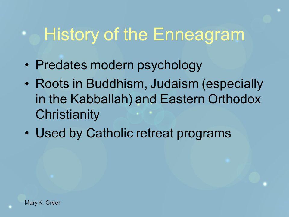 Mary K.Greer Why study Enneagrams.
