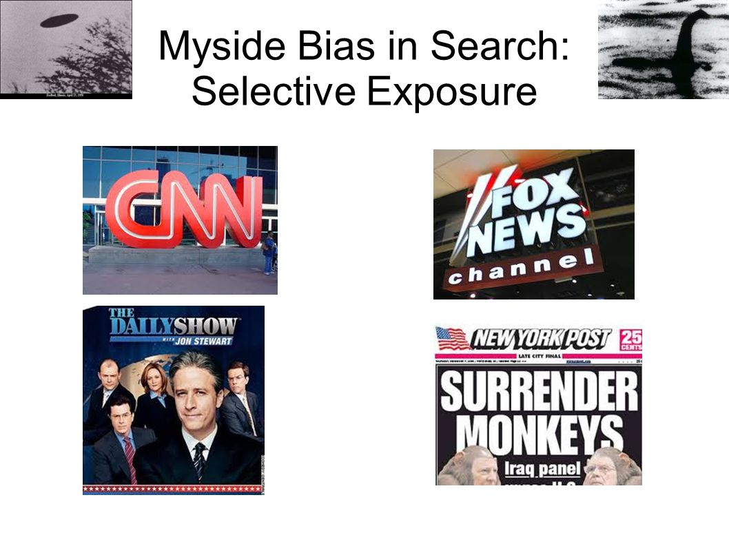 Myside Bias in Search: Selective Exposure
