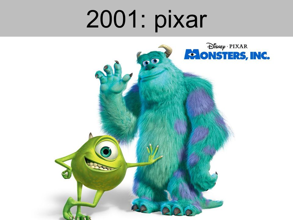 2001: pixar