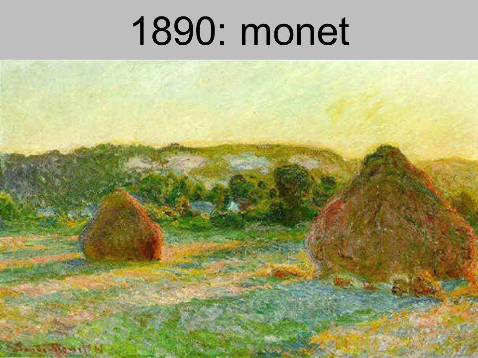 1890: monet