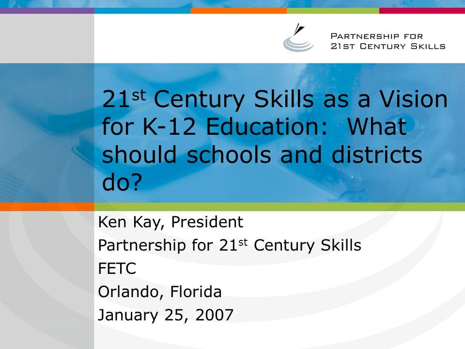 Create a teacher professional development strategy for 21 st Century skills.