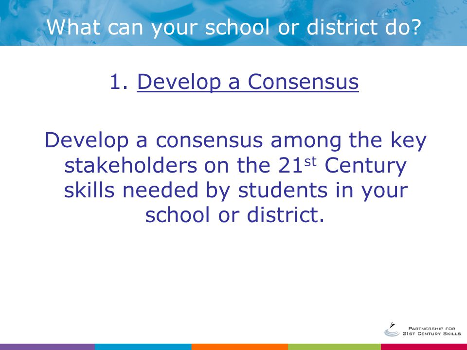 What can your school or district do.