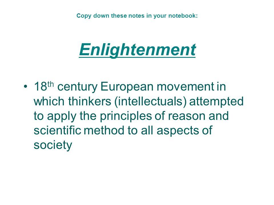 Origins of Democracy Enlightenment Thinkers