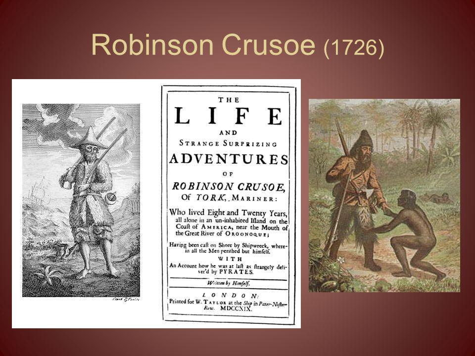 Robinson Crusoe (1726)