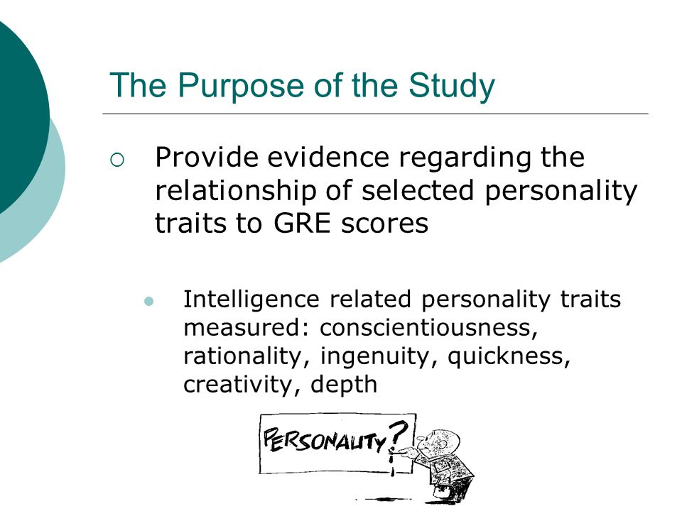 Does the GRE screen out applicants with these characteristics.