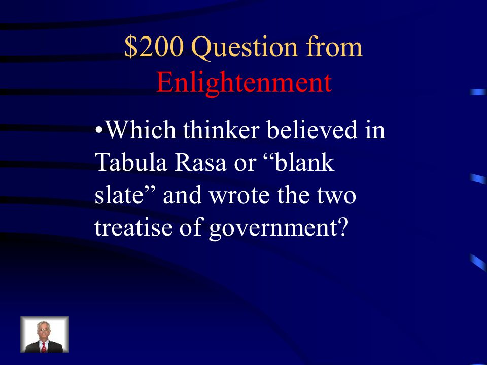 $100 Answer from Enlightenment Thomas Hobbes