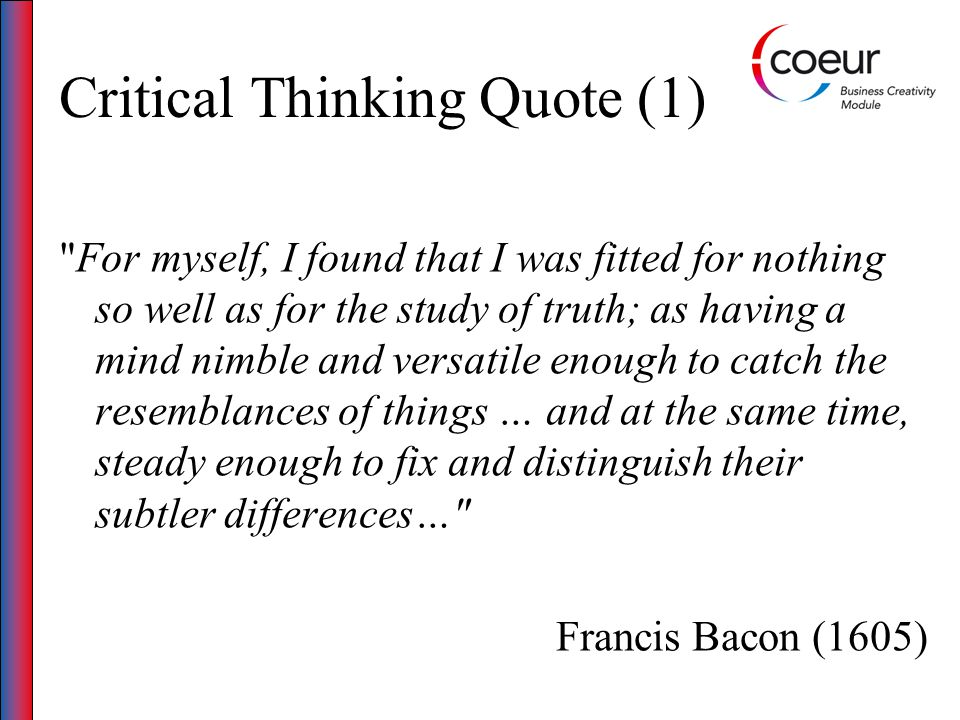 Critical Thinking Quote (1)