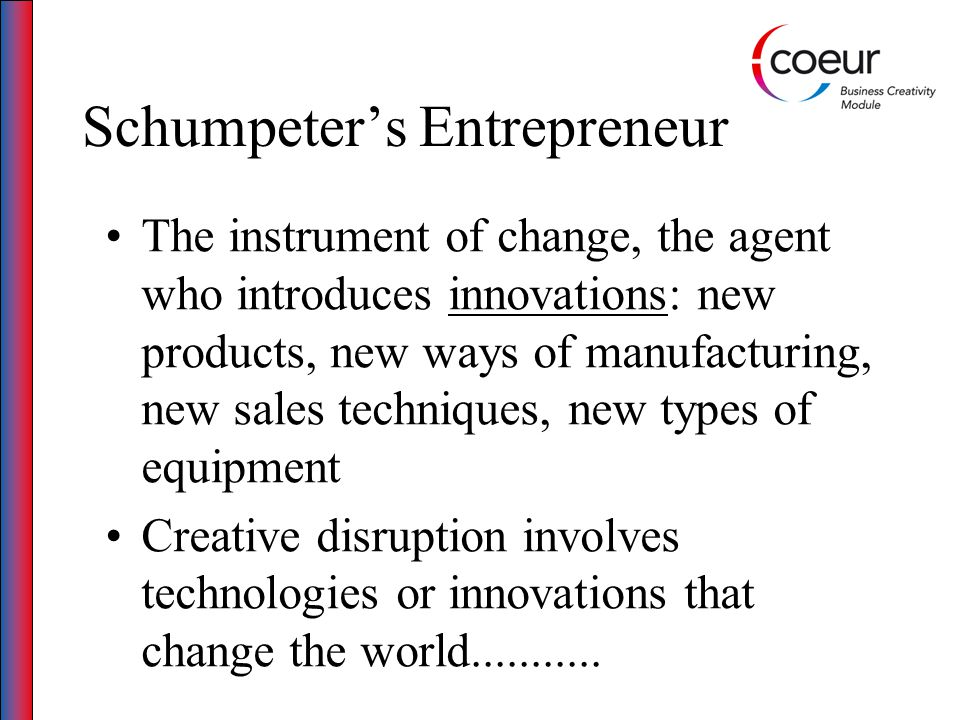 Conclusions The identification and exploitation of opportunities is a complex and interactive process The entrepreneur is just one of many contributing factors They can however be the critical catalyst that spots the opportunity and begins the process of firm creation