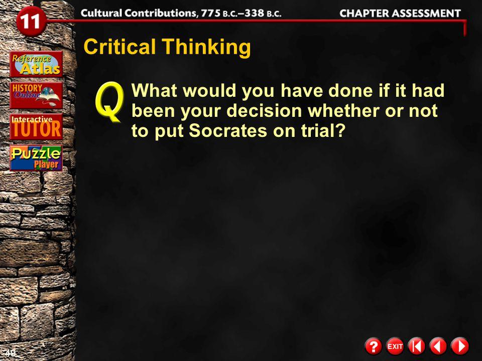 48 Chapter Assessment 9 What was Euclid's most famous achievement.