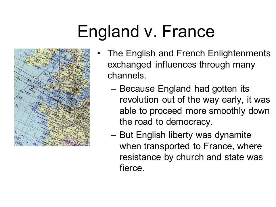 Impact/ Effects of the Enlightenment The Enlightenment birthed two revolutions imperative to Western Civilization: –American Revolution –French Revolution The Enlightenment created an outlet for intellectuals/educated to openly debate issues w/in society This era allowed for a greater sense of 'universalism' where peoples did not live for their own sake, but sought betterment for others