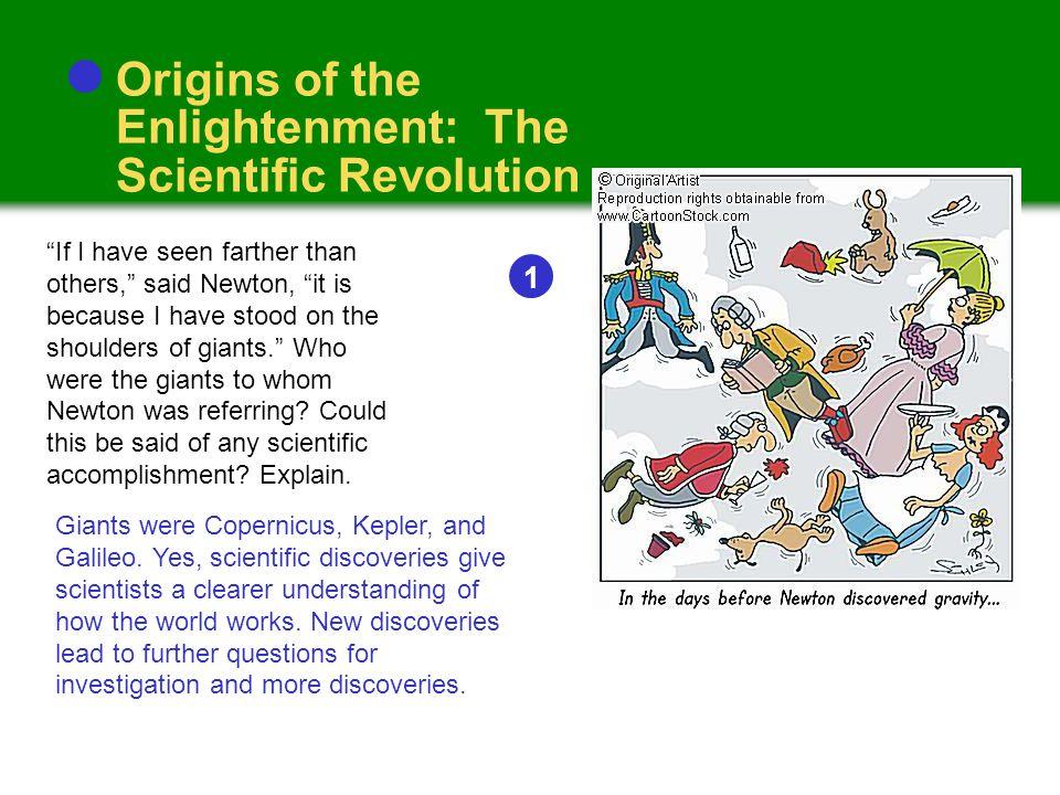 Cause: Scientific Revolution